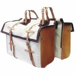 Deluxe Canvas and Leather Panniers