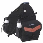 Deluxe Black Poly Saddle Bags