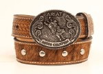 Boys Faux Hair Ariat Belt