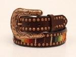 Ladies Studded Serape Belt