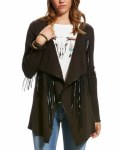 Ladies Trenton Expresso Cardigan