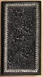 Steel Lace Black Floral Rodeo Wallet