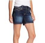 Ladies Ariat Melange Denim Shorts