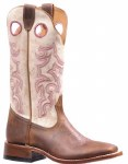 Ladies Golden Brown Cowboy Boot