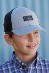 Boys Cinch Mesh Trucker Cap
