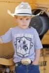 Toddler Grey Logo Tee