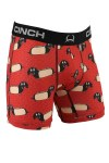 Mens Hot Dog Print Boxers