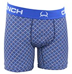 "Mens 6"" Multi Print Boxer Briefs"