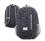 Hooey Dk Grey Arrows Backpack