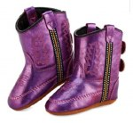 Metallic Purple Infant Poppet