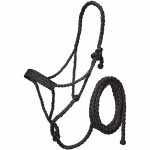 Mule Tape Halter with Lead