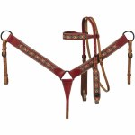 Canyon Sunset Printed Headstall/Breastcollar Set