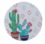 Cactus Garden Braided Placemat