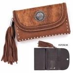 Brown Flap Over Wallet