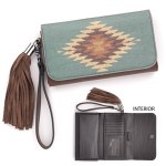 Brown Clutch Wallet