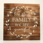 Wood Plank Family Sign