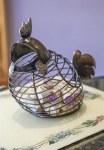 Rooster Wine Cork Basket