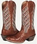 "Ladies All Around ""Sahara"" Whiskey Ostrich Boot"