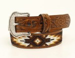 Boys Tribal Stitch Belt