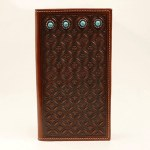 Turquoise Stone Rodeo Wallet