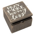 Hinged Box - Pray More