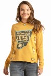 Ladies Rodeo Sign Pullover