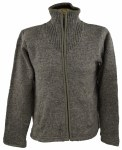 Adult Charcoal Placket Sweater