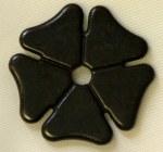 """Rowels-Black Cloverleaf 1 3/8"""""""