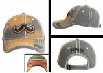 Mens Leroy Gibbons Mustache Cap