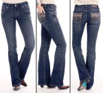 Ladies Mid Rise Boot Jean