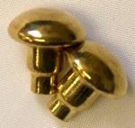 Brass Spur Buttons - Pair
