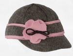 Lil' Petal Pusher Charcoal/Pink