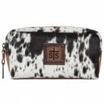 Cowhide Bebe Cosmetic Bag