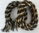 """3/4"""" x 22' Horse Hair Mecate"""