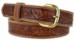 Kid's Wild Rose Tooled Belt
