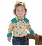 Wrangler Baby Cactus Print Bodysuit