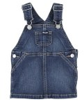 Toddler Denim Bib Overalls Skirt