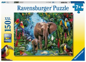 Elephants at the Oasis 150 pc