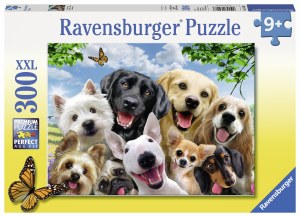 Delighted Dogs 300 pc