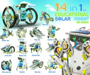 14 in 1 Educatonal Solar Robot