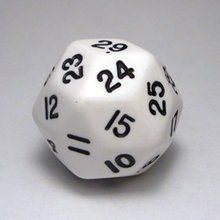 30-sided Opaque Dice