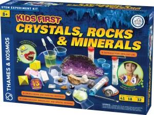 Kids First Crystals, Rocks....