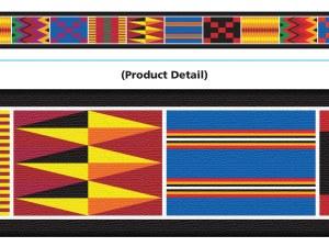 African Weave Bolder Borders
