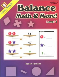 Balance Math & More 1