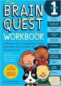 Brain Quest Workbook 1