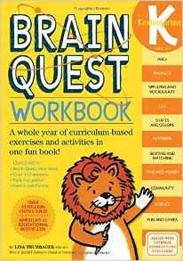 Brain Quest Workbook K