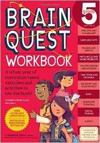 Brain Quest Workbook 5