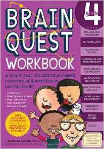 Brain Quest Workbook 4