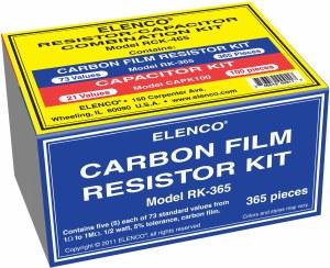 Combo Resistor/Capacitor Kit