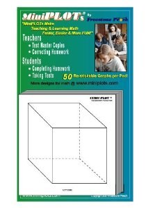 Cubic-Plot Graphing Pad white